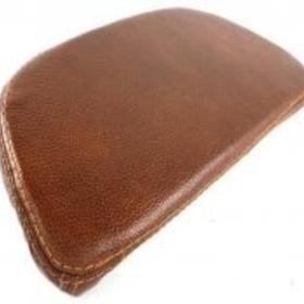 Accessories Back Rest Brown Leather Vespa S/LX/LXV Top Case
