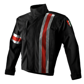Apparel Jacket Men's Corazzo 5.0 Black (Red Stripe) X-Large
