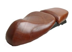 Accessories Saddle/Buddy Seat Brown Leather GTS/GTV