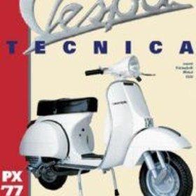 """Lifestyle Book, """"Vespa Tecnica'  Vol#5 (rare)"""