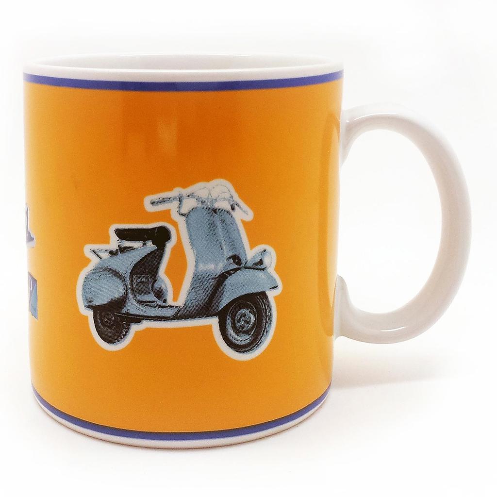 Lifestyle Coffe Mug Yellow Fenderlight