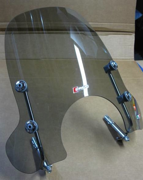 Accessories Windscreen Mid Height Smoked Vespa GT/GTS
