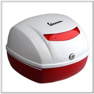 Accessories Top Case Vespa S50/150 2-Tone Red-White