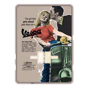 "Lifestyle Calendar, Perpetual ""get ahead on a Vespa"""