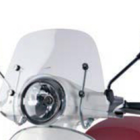 Accessories Windshield, Vespa Primavera Clear