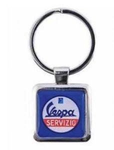 Lifestyle Keychain, Vespa Metal Logo