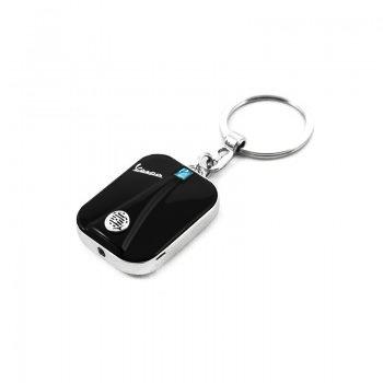Lifestyle Keychain, Vespa Legshield/LED light Black