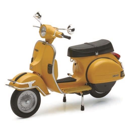 Lifestyle Toy, 1978 Vespa P200E 1:12 Yellow