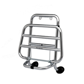 Accessories Front Rack OEM Vespa GTS/GTV Chrome