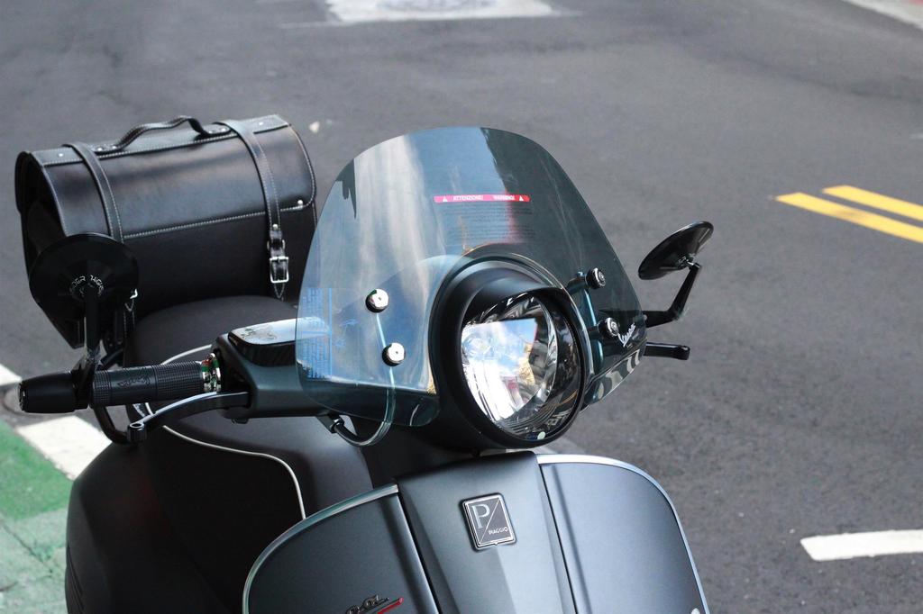 Accessories Headlamp Ring w/Visor, GTS Matt Black