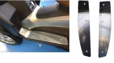 Accessories Floorboard, MP3 Racing Aluminum