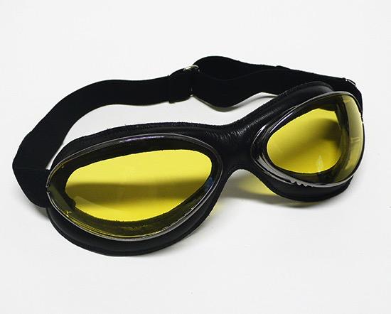 Apparel Goggles Leon Jeantet Aviator Chrome Black