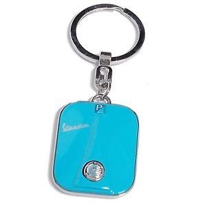 Lifestyle Keychain Vespa Legshield Light Blue