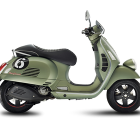 Vehicles Vespa, 2018 GTS300 ABS/ASR Sei Giorni Matte Green