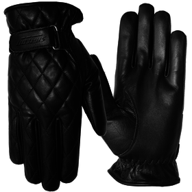 Apparel Glove, Cruise Women's Pleated Leather