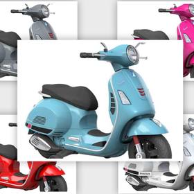 Lifestyle Kids 12V Vespa GTS Scooter (5 Colours Options)