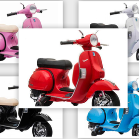 Lifestyle Kids 12V Vespa PX Scooter (5 Colour Options)