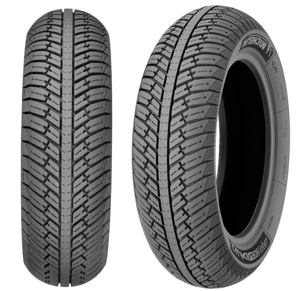 "Parts Tire, 130/70-12"" (Rear) Michelin City Grip Winter"