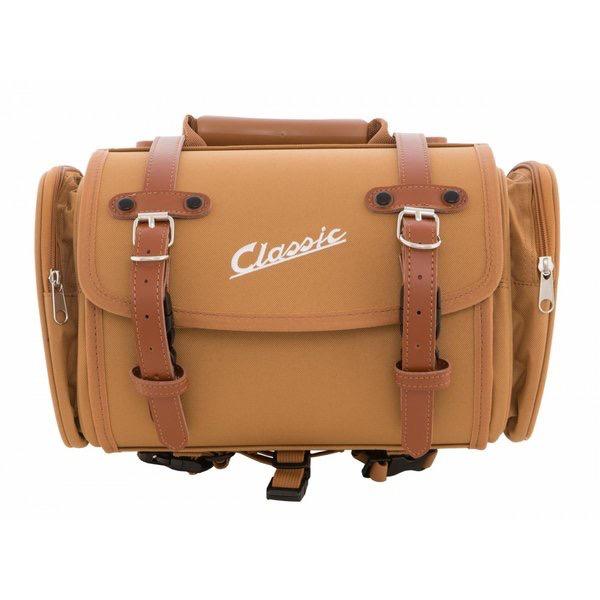 Accessories Top Case/Rack Bag, Brown Canvas 10ltr Classic