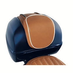 Accessories Luxury Leather Tan Back Rest