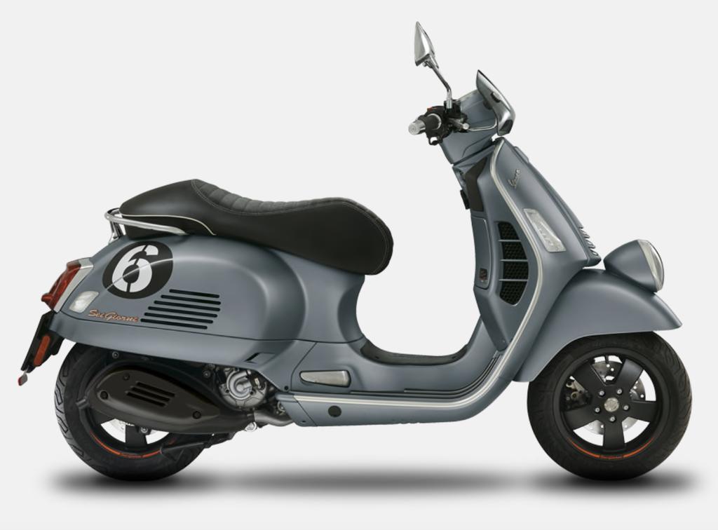 Vehicles Vespa, 2020 GTS300 HPE Sei Giorni Edition