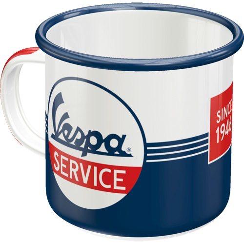Lifestyle Mug, Vespa Service Steel Enameled