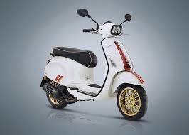 Vehicles Vespa, 2021 Sprint 50 i-GET Racing 60's Edition White