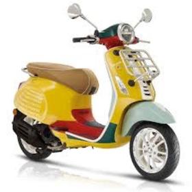 Vehicles Vespa, 2021 Primavera 50 Sean Wotherspoon Edition