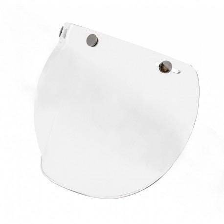 Apparel Visor, Vespa Clear 3-Snap Bubble