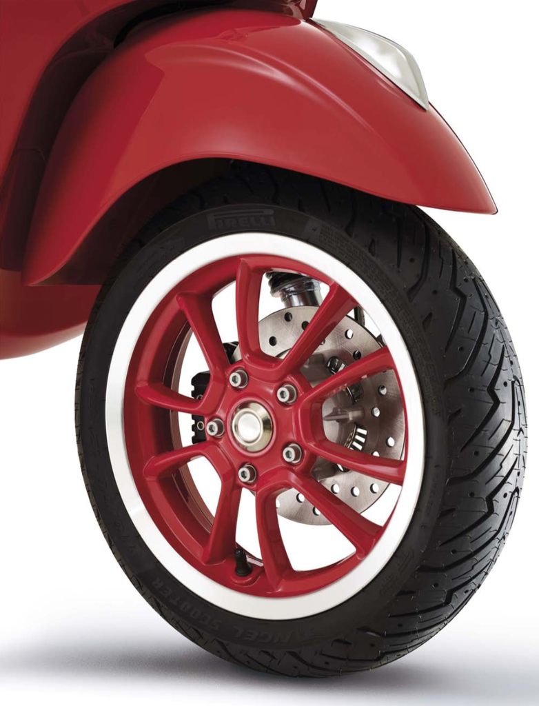 Vehicles Vespa, 2021 Primavera 150 (RED) Edition