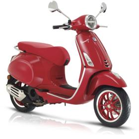 Vehicles Vespa, 2021 Primavera 150 (RED) Edition