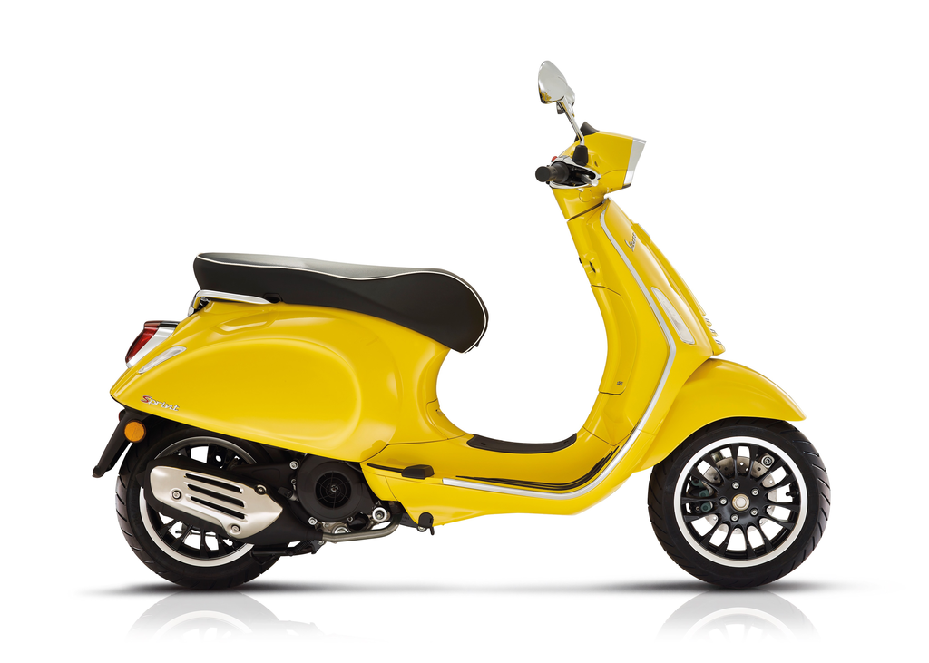 Vehicles Vespa, 2020 Sprint 150 i-GET Giallo Estate