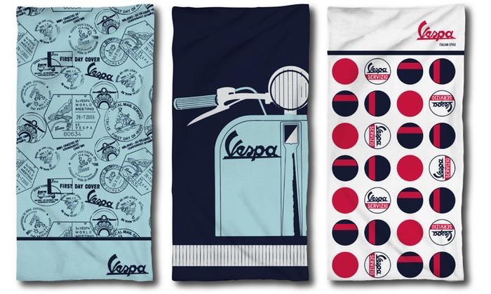 Lifestyle Beach Towel, Vespa Servizio White