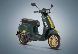 Vehicles Vespa, 2021 Sprint 150 i-GET ABS Racing 60's Edition Green