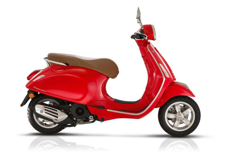 Vehicles Vespa, 2020 Primavera 150 i-GET Red