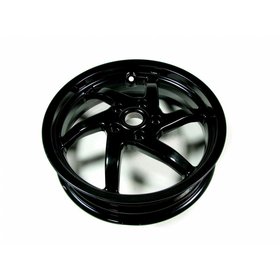 "Parts Wheel Rim, Gilera 13"" Black 6 Spoke"