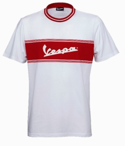Lifestyle T-Shirt, Vespa Racing 60's (White or Green)