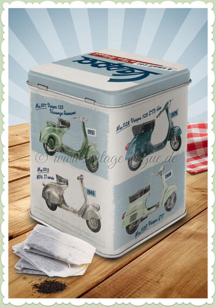 Lifestyle Tin Can, Vespa Model Chart