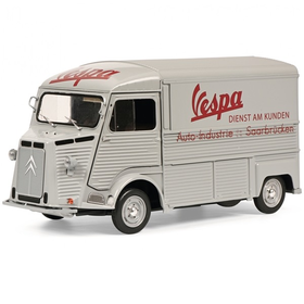 Lifestyle Toy, Schuco Vespa Citroen service truck (Limited 500 edition)