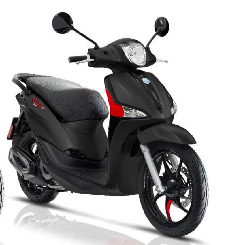 "Vehicles Piaggio, 2021 Liberty ""S"" iGET 155cc ABS Nero Meteora"