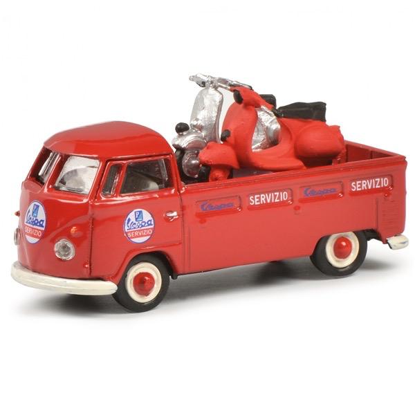 Lifestyle Toy, Schuco Vespa VW service truck (Limited 500 edition)