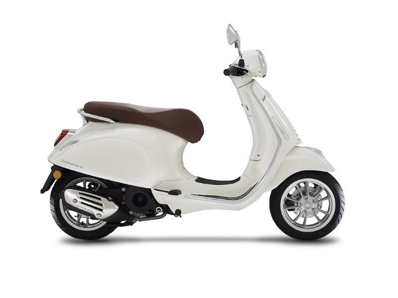 Vehicles Vespa, 2020 Primavera 150 i-GET Bianco Innocenza