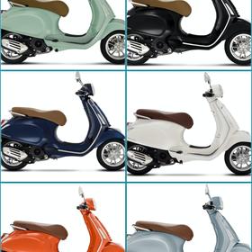 Vehicles Vespa, 2021 Primavera 50cc i-GET