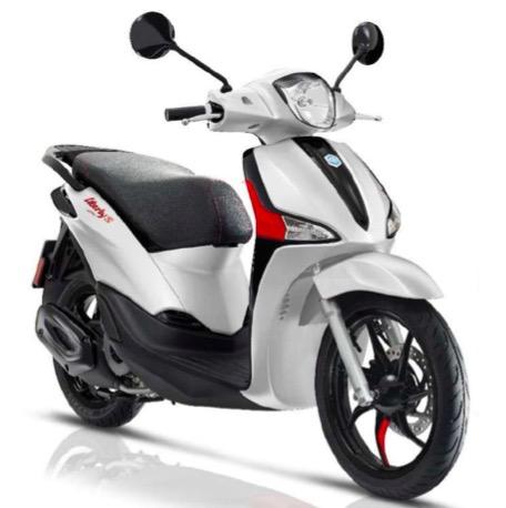"Vehicles Piaggio, 2021 Liberty ""S"" iGET 155cc ABS"