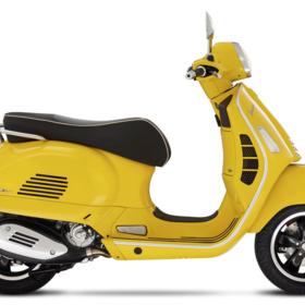 Vehicles Vespa, 2021 GTS300 HPE Super Giallo Estate