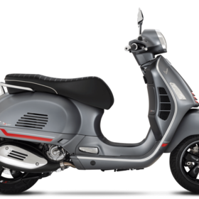Vehicles Vespa, 2021 GTS300 HPE SuperSport Matte Titanium