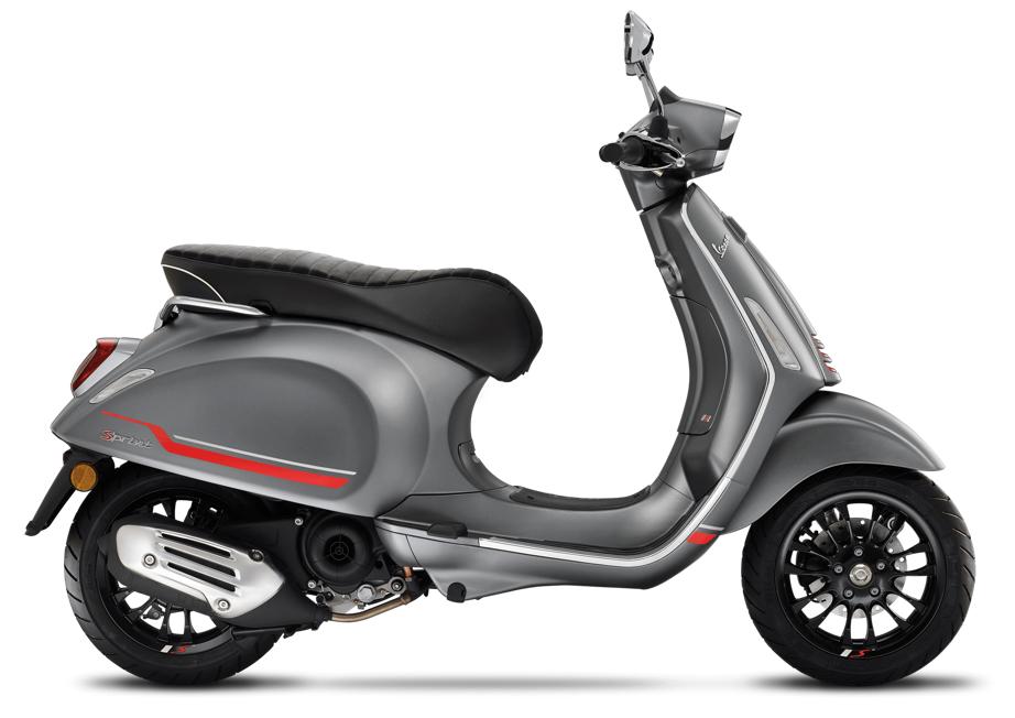 Vehicles Vespa, 2021 Sprint-S 50cc i-GET