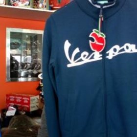 Apparel Women's, Vespa Sweatshirt Blue Medium