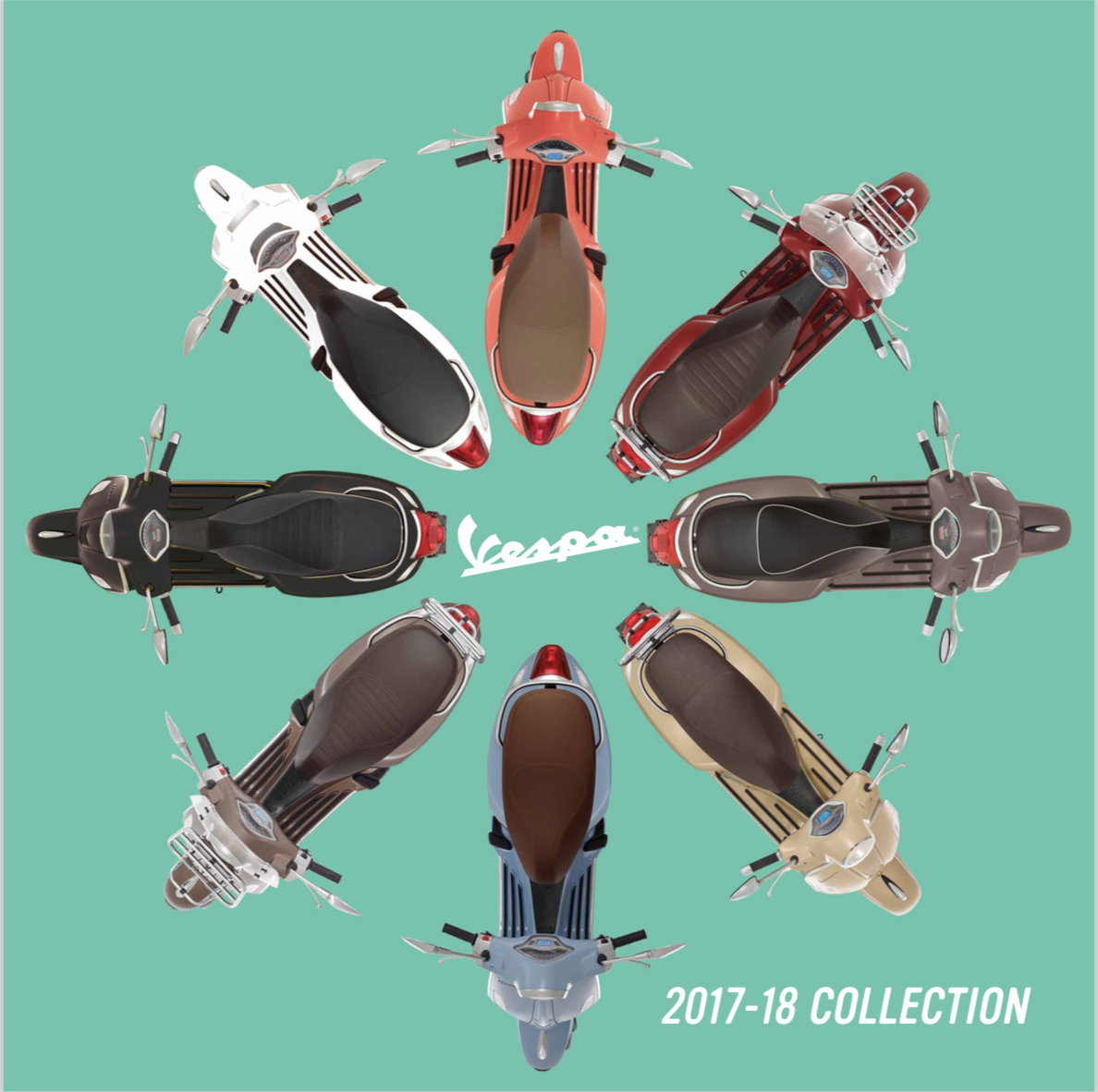 2018 Vespa vehicle cover