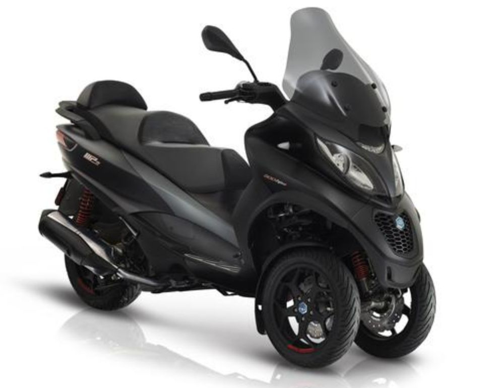 Vehicles Piaggio, 2019 MP3-500 HPE Sport LT ABS/ASR Black